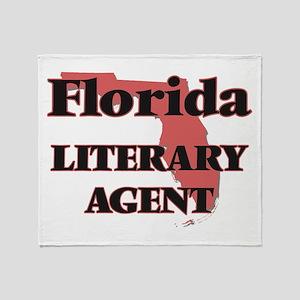 Florida Literary Agent Throw Blanket