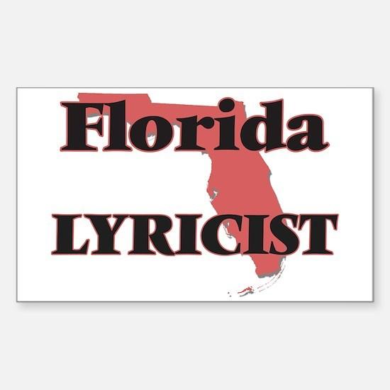 Florida Lyricist Decal