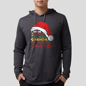 Dear Santa Will Trade Granpa F Long Sleeve T-Shirt