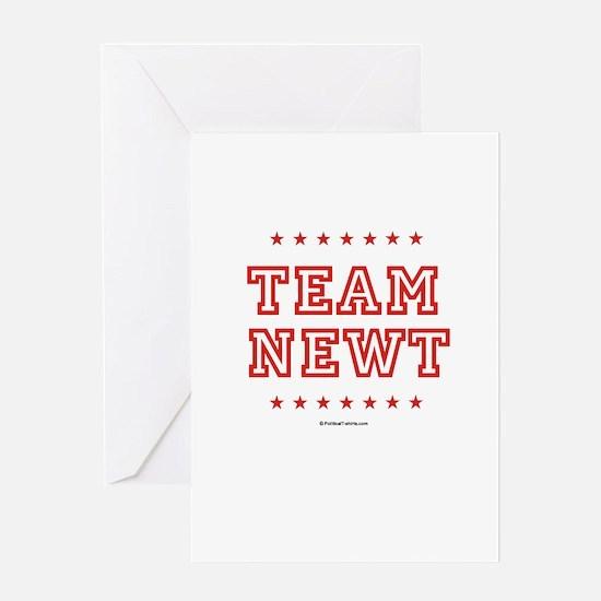 Team Newt Greeting Card