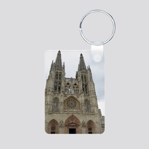 Burgos Cathedral Aluminum Photo Keychain