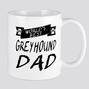 Worlds Best Greyhound Dad Mugs