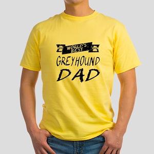 Worlds Best Greyhound Dad T-Shirt