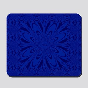 Blue Flower Mousepad