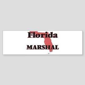 Florida Marshal Bumper Sticker