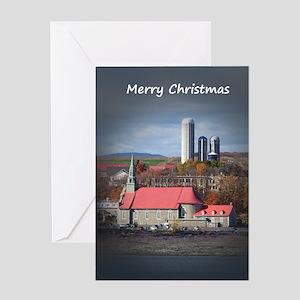 Church and Farm Greeting Cards