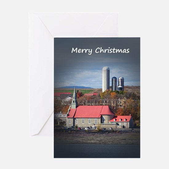 Church and Farm Greeting Cards
