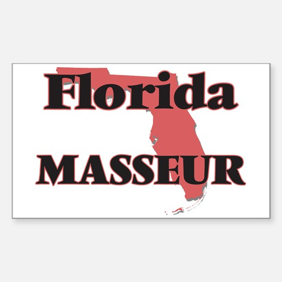 Florida Masseur Decal