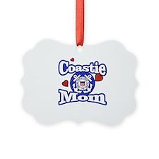 Coastie Mom Ornament