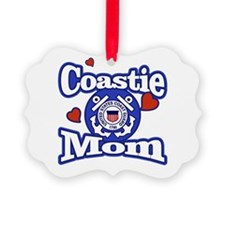 Coastie Mom Ornament