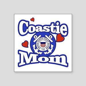 Coastie Mom Sticker