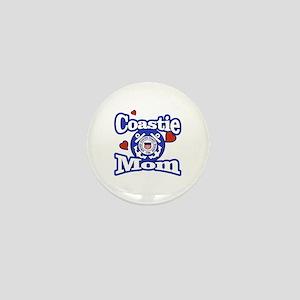 Coastie Mom Mini Button