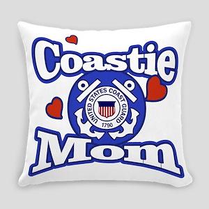Coastie Mom Everyday Pillow