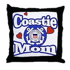 Coastie Mom Throw Pillow