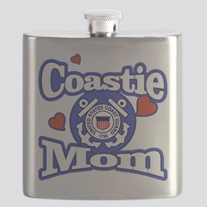 Coastie Mom Flask