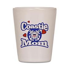 Coastie Mom Shot Glass