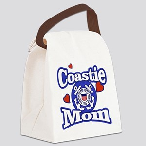 Coastie Mom Canvas Lunch Bag