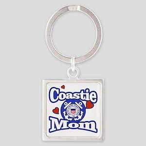 Coastie Mom Keychains
