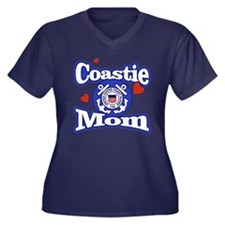 Coastie Mom Plus Size T-Shirt