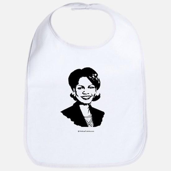Condi Rice Face Bib