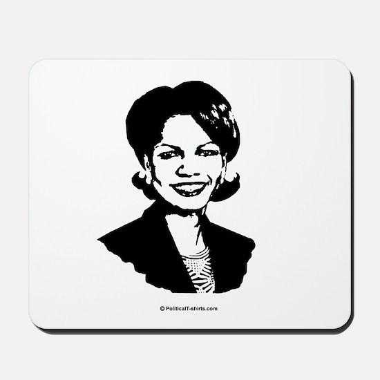 Condi Rice Face Mousepad