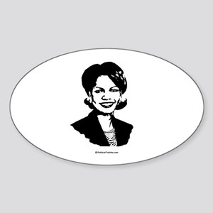 Condi Rice Face Oval Sticker