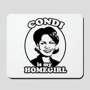 Condi is my homegirl Mousepad