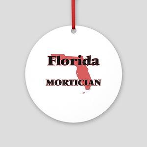 Florida Mortician Round Ornament