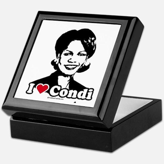 I Love Condi Keepsake Box