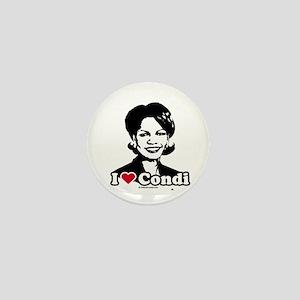 I Love Condi Mini Button