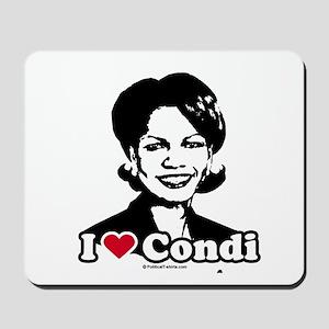I Love Condi Mousepad