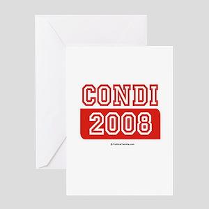Condi 2008 Greeting Card