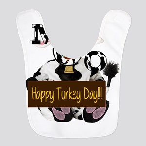 Turkey Day Humor Polyester Baby Bib