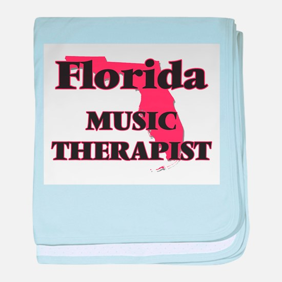 Florida Music Therapist baby blanket