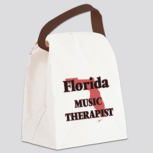 Florida Music Therapist Canvas Lunch Bag