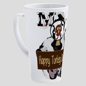 Turkey Day Humor 17 oz Latte Mug