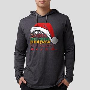 Dear Santa Will Trade Peepaw F Long Sleeve T-Shirt
