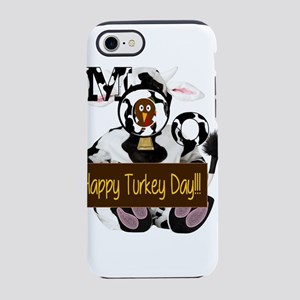 Turkey Day Humor iPhone 8/7 Tough Case