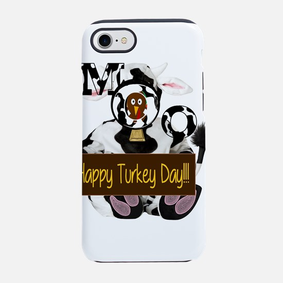 Turkey Day Humor iPhone 8/7 Tough Case