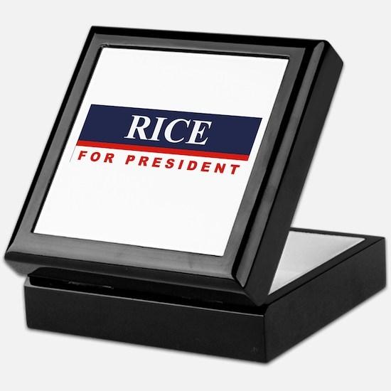 Condoleezza Rice for President Keepsake Box
