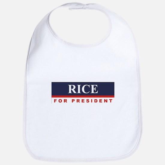 Condoleezza Rice for President Bib