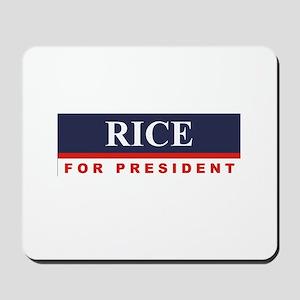 Condoleezza Rice for President Mousepad