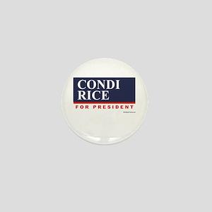 Condi RIce for President Mini Button
