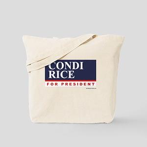 Condi RIce for President Tote Bag
