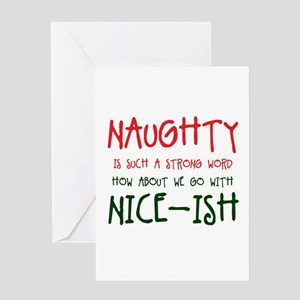 I can get you on the naughty list greeting cards cafepress nice ish greeting cards m4hsunfo