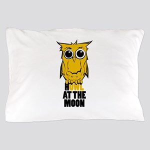Howl at the Moon Pillow Case