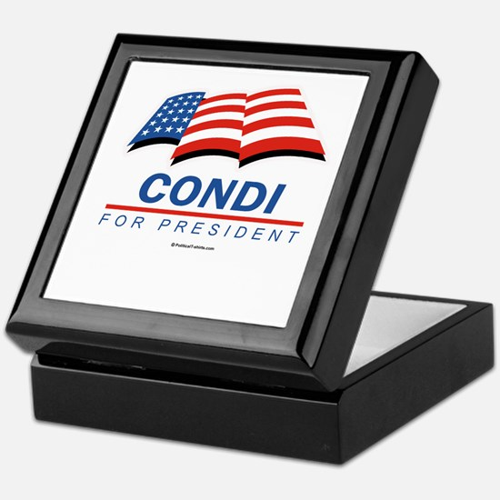 Condi for President Keepsake Box
