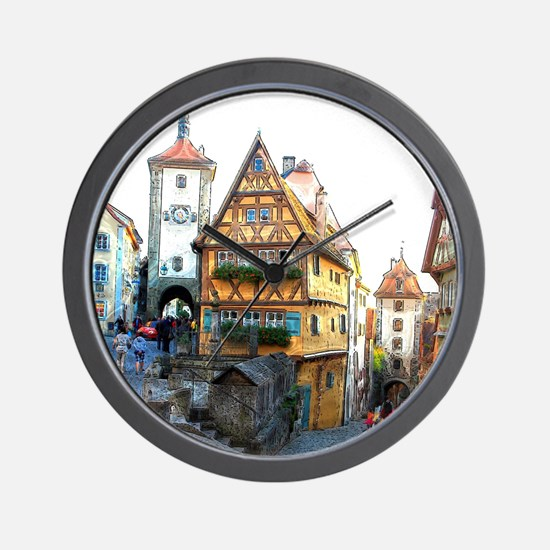 Rothenburg20150903 Wall Clock
