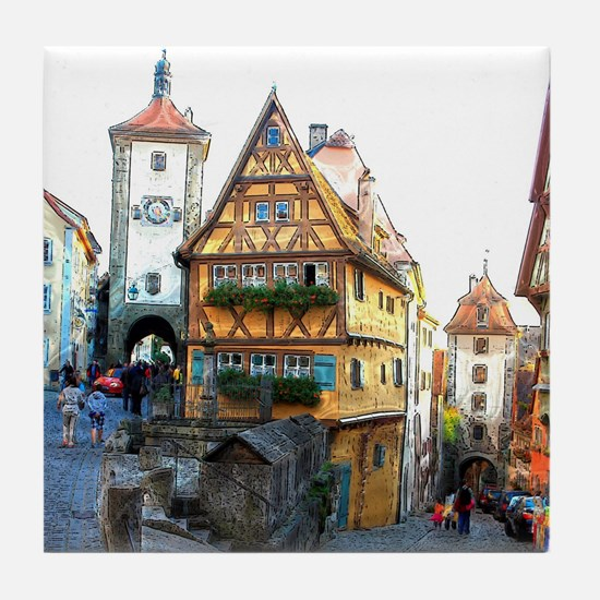 Rothenburg20150903 Tile Coaster