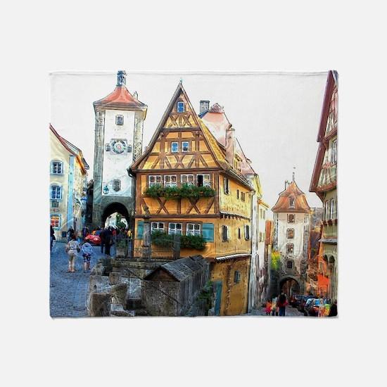 Rothenburg20150903 Throw Blanket